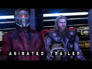 Guardians Of The Galaxy VOL 3 - Animated Trailer