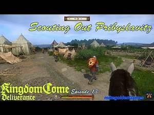 Scouting Pribyslavitz (Nest of Vipers Quest) - Kingdom Come Deliverance Episode 13