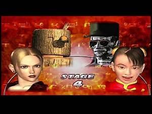 Tekken Tag 1 ( Arcade ) - Mokujin / Nina Playthrough ( Aug 5, 2020 )