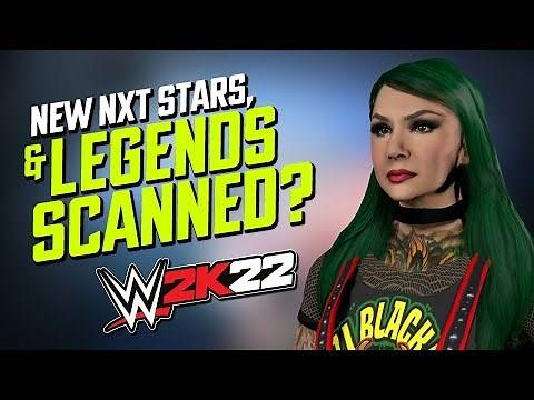 WWE 2K22: New NXT Stars & Possible Legends Scanned Backstage At Royal Rumble?