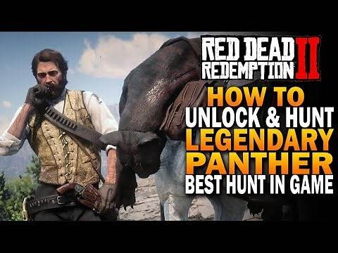 RDR2 Legendary Panther Hunting! How To Unlock & Hunt Legenday Panther! Red Dead Redemption 2 [RDR2]