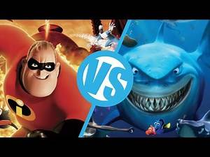 The Incredibles VS Finding Nemo : Movie Feuds ep31