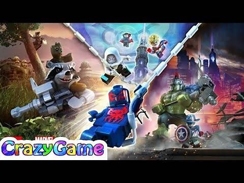 Lego Marvel Super Heroes 2 Complete Story 7 Hour Gameplay Walkthrough