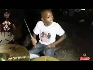SUNDAY MORNING VIBES,JAMAICA youths have talent, Talented kid playing the DRUMS