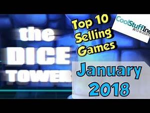 Top 10 Selling Games: January 2018