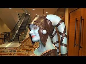 AAYLA SECURA! Star Wars The Clone Wars Cosplay