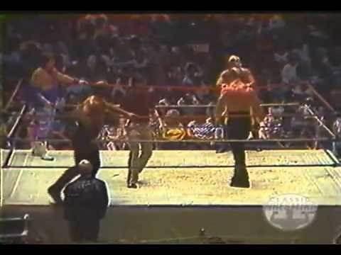 Road Warriors vs Jerry Lawler & Austin Idol