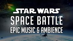 🎧 Star Wars Music & Ambience | Space Battle in 4k - Epic Music by Samuel Kim - Space Battle Sounds