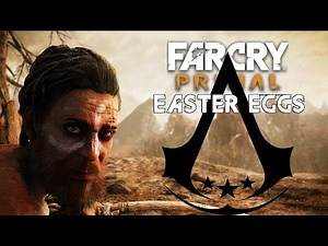 Far Cry Primal - Easter Eggs - Assassin's Creed Logo (Assassin's Creed) (PC HD) [108060FPS]