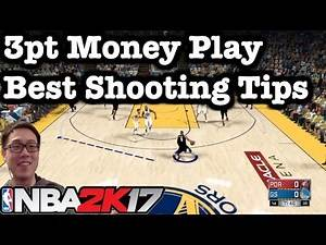NBA 2K17 Tips & Tutorials: 2K17 How to shoot 3pt Shots. 2K17 Jump shot tutorial money play #30