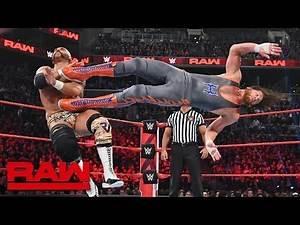 Zack Ryder & Curt Hawkins vs. The Revival - Raw Tag Team Championship Match: Raw, April 8, 2019