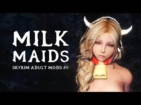 SKYRIM ADULT MODS #8: The Milk Mod Economy