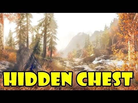 Skyrim: Secret Hidden Boss Chest Location (Skyrim Hidden Treasures)