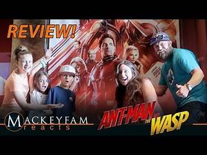 Ant-Man and The Wasp- MOVIE REVIEW!!!