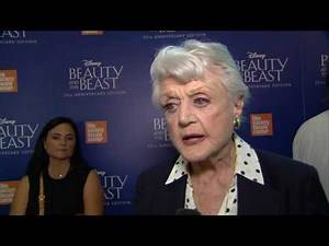 """Beauty and the Beast 25th Anniversary """"Mrs Potts"""" Interview - Angela Lansbury"""