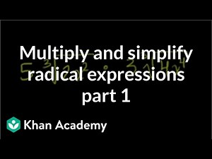 Simplifying cube root expressions | Algebra