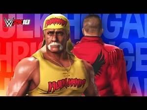 WWE 2K18 - CHRIS DANGER vs HULK HOGAN | WWE 2K18 Dream Match Showcase