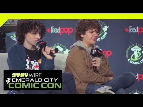 Stranger Things: Full Panel   ECCC 2019   SYFY WIRE