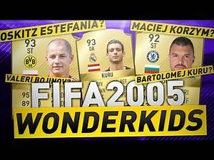 FAILED WONDERKIDS FROM FIFA 2005!!! | FIFA 18 FAILED WONDERKIDS | FIFA 18