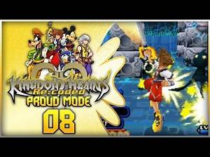 Kingdom Hearts Re:coded Proud Mode Playthrough with Chaos part 8: Into Wonderland