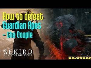 Sekiro: How to defeat Guardian Ape Couple