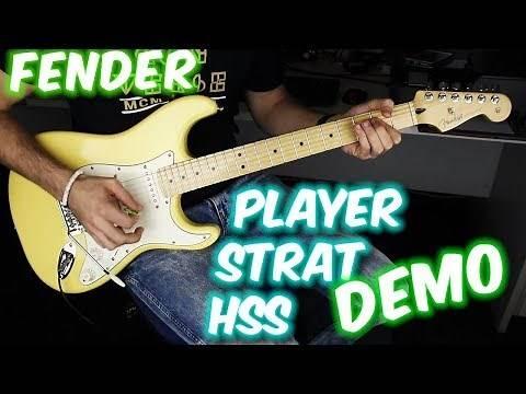 Fender Player Stratocaster HSS (demo)