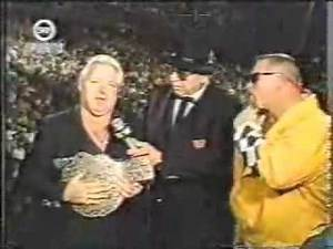Bobby Heenan brings the NWA title to WWF TV (Wrestling Challenge 1991)