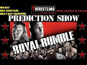 WWE ROYAL RUMBLE 2015 PREVIEW & PREDICTIONS