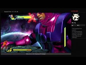 Ultimate Marvel vs. capcom 3 Galactus mode