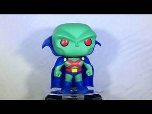 Funko POP! Unboxing Video - Martian Manhunter Justice League Unlimited (Walmart Exclusive)