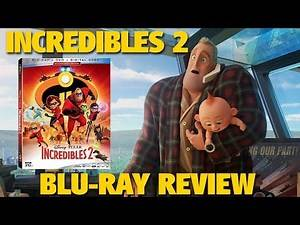 Incredibles 2 Blu-ray Review | Disney-Pixar