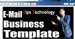 How to make Business Email Template on Gmail Free | Email Themes | Tips Technology