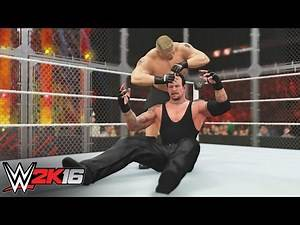 Lesnar vs. Undertaker: WWE 2K16 Replays Hell In A Cell 2015