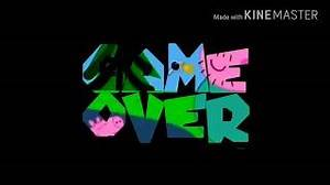 Peppa pig Super Mario Galaxy Game Over