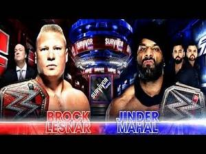 Brock Lesnar VS Jinder Mahal - WWE Survivor Series 2017