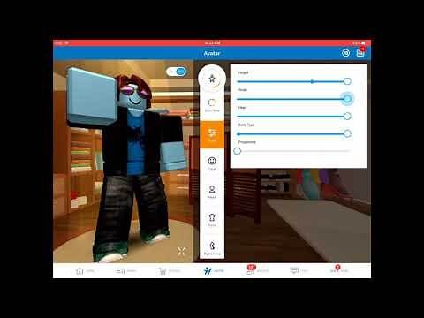 Roblox - how to make your Roblox character big