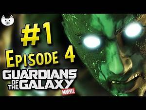 Guardians Of The Galaxy Telltale - BEST EPISODE YET - (Guardians Of The Galaxy Game Episode 4 #1)