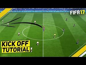 HOW TO SCORE DIRECTLY FROM KICK OFF IN FIFA 17 - TUTORIAL / BEST ATTACKING TRICKS