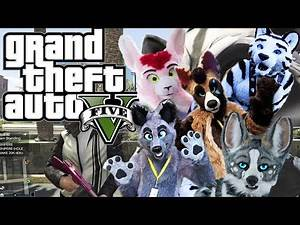 GTA V Online Funny Moments - Retarded Raccoons, Fentics Wrath and Shit Internet