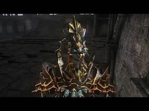 Dark Souls 3 Ebony Golden Lion Ornstein MOD