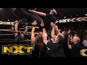 Damian Priest takes out Pete Dunne and Killian Dain: WWE NXT, Nov. 13, 2019