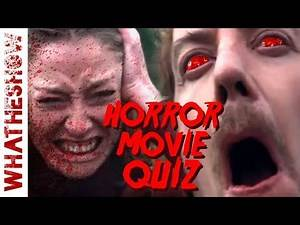 Guess The Horror Movie Quote | MOVIE QUIZ