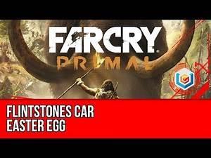 Far Cry Primal - Flintstones Car Easter Egg Location Guide