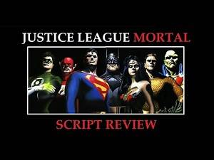 Justice League: Mortal script review | Hitting the Books Ep. 9
