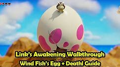 Wind Fish's Egg - FINAL DUNGEON Walkthrough - The Legend of Zelda Link's Awakening (Switch)