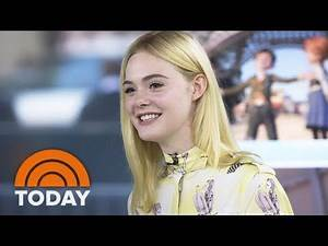 Actress Elle Fanning Talks About 'Leap!' And Adorable Childhood Clip With Dakota   TODAY