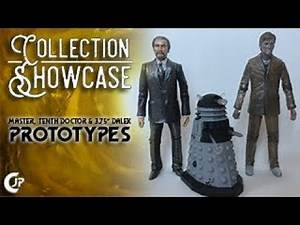 """Collection Showcase : The Master, Tenth Doctor & 3.75"""" Dalek Prototypes"""