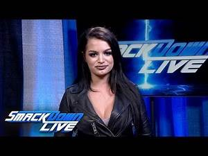 Paige runs down a packed SmackDown LIVE: SmackDown Exclusive, Aug. 7, 2018