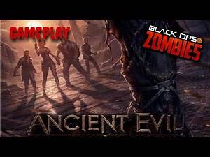 """NEW Zombies Map """"Ancient Evil"""" Gameplay Walkthrough!! 