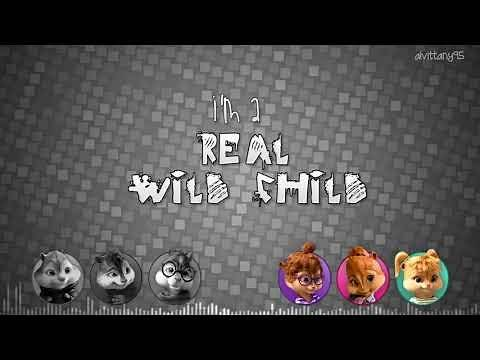 The Chipmunks and The Chipettes - Real Wild Child (with lyrics)